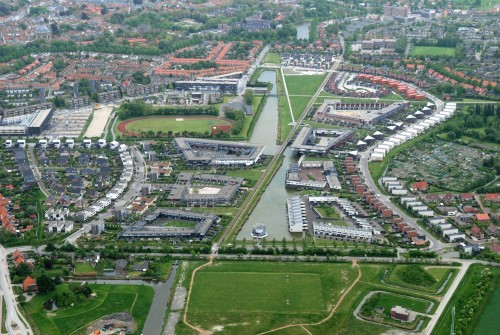 Veersepoort urban plan and housing, Middelburg