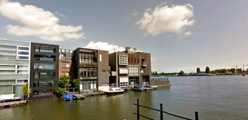 House on Borneo island, Amsterdam